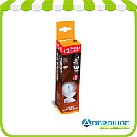 Набор мячей для настольного тенниса Enebe Caja 3+1 Pelotas NB Top 3* Naranja 40 мм
