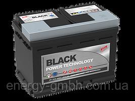 Стартерный аккумулятор FAAM серии Black Power 6 СТ-55