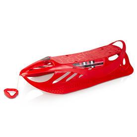 Санки для детей Plastkon Firecom красные