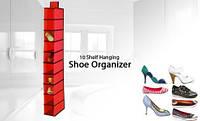 Подвесной органайзер для обуви Hanging Shoe Organizer, фото 1