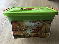 ✅ Контейнер для пикника пластиковый 6,3 л (190*275*160, № 025)