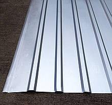 Профнастил оцинкованный ПС-10 0,25мм 2 м Х 0,93м, фото 3