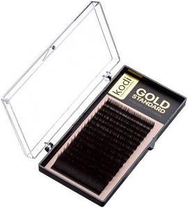 Ресницы для наращивания Kodi Professional Gold, D-0.03 (16 рядов: 12 мм.)