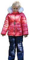 """Зимняя куртка и комбинезон (комплект) для девочек """"Коралл"""""""