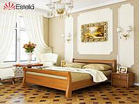 Кровать из натурального дерева Диана (Бук) щит Оригинал 80*190/200
