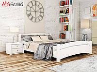 Двухспальная кровать деревянная Венеция (Бук) Щит Оригинал 80*190