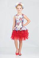 Платье для девочки 38-7012-2, фото 1