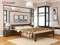 Кровать из натурального дерева Рената (Бук)щит ТМ Эстелла