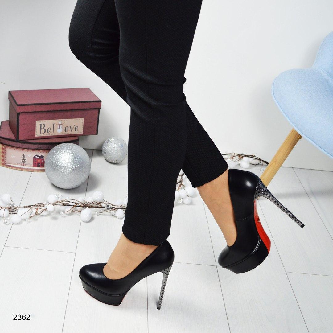 Женские туфли на платформе и высоком каблуке в стразах. -  МОДНЫЙ BAZAAR   Одежда c5a348fc6b5