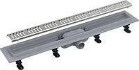 Трап ALCA PLAST APZ10-650 для душевой кабины (Одесса) водоприемник, водосток, канал, трап в пол
