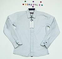 Стильная рубашка  для мальчика на 7-9 лет, фото 1