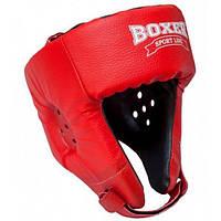 Шлем боксерский из кожвинила Элит Boxer L (bx-0064)