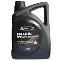 Масло Hyundai/KIA Premium Extra Gasoline Engine Oil (SL) 5W20  4л полусинтетическое 05100-00421