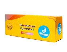 Полотенца бумажные Z- сложенные в картонной коробке 100