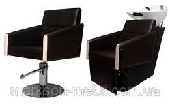 Комплект Оливия (мойка+кресло)