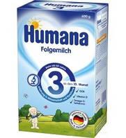 Молочная смесь Humana 3, 600 г для детей с 10 мес (782151)