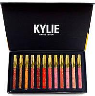 Подарочный набор жидких матовых помад Kylie 12 шт