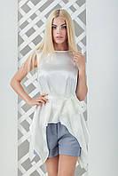 Женская атласная блуза Анита