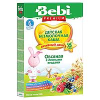 Bebi Premium. Безмолочная каша «Овсяная с лесными ягодами», 6 мес+ 200 г. (016520)