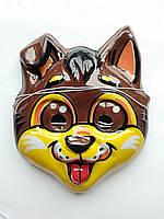 Дитяча карнавальна маска собачка