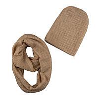 Комплект для девочки шапка + шарф