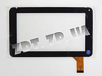 Сенсор Globex GU7013C / GU701C / GU702R / GoClever TAB R70 шлейф 39 мм (1000154)