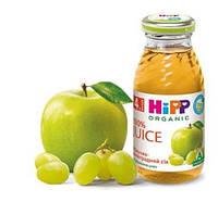 HIPP «Яблочно-виноградный сок», 200 мл.(8030)