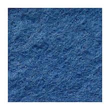 Фетр мягкий 1,3 мм, натуральный, 20х30 см, №38 умеренно синий (Испания)