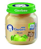 Пюре GERBER® «Яблоко», 130 г. (514838)