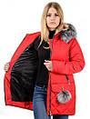Женская зимняя куртка N15172, фото 4