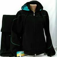Тёплый спортивный костюм FORE, черный, размер 48.