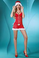 Новогодний костюм Santa Lady  LC