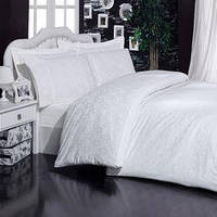 Mariposa Deluxe Tencel бамбук-жаккард 200x220 ottoman white v1
