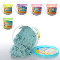 Песок для творчества MK 0832 (24шт) 6 цветов, 1000г, в ведре, 13_11,5_10,5см