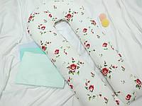 Подушка для беременных + наволочка в комплекте., фото 1