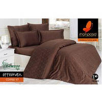 Mariposa Deluxe Tencel бамбук-жаккард 160x220 Ottoman coffee V7