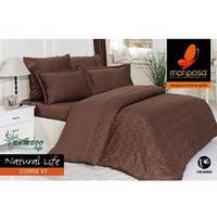 Mariposa Deluxe Tencel бамбук-жаккард 160x220 Natural Life coffee V7