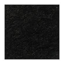 Фетр мягкий 1,3 мм, натуральный, 20х30 см, №70 черный (Испания)