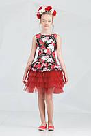Платье для девочки 38-7012-4