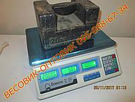 Весы торговые Domotec DT-3208, до 50кг 6v, фото 1