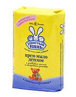 Ушастый нянь. Крем-мыло детское с оливковым маслом и ромашкой, 90 г (4600697101972)