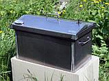 Коптильня 520х300х310 Крышка Домиком с термометром , фото 5