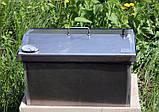 Коптильня 520х300х310 Крышка Домиком с термометром , фото 6
