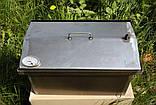 Коптильня 520х300х310 Крышка Домиком с термометром , фото 7