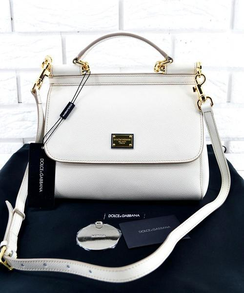 c50132cf399d Женская сумка Dolce & Gabbana Sicily White (4902) - Интернет-магазин  VipSymki в