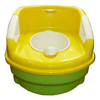 Горшок-кресло с крышкой Geoby Р600-HAL. (3 в 1) (6838) Салатовый