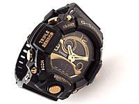 Часы мужские G-Shock - AVIO, черные с золотом, матовые