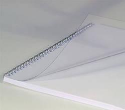 """Пластиковая обложка Кристал А4 """"прозрачная"""", 150 мкм, глянцевая"""