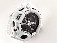 Часы мужские G-Shock - AVIO, белые с черным, матовые