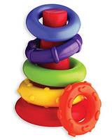 """Playgro. Развивающая игрушка """"Пирамидка"""", 9мес+ (4930)"""